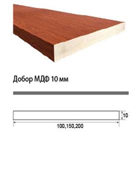 Доборная планка (добор) шириной 100 мм.