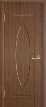 """Модель """"Овал"""" (без стекла), дверь межкомнатная."""