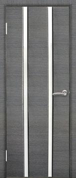 Модель L-002 (со стеклом), межкомнатная дверь.