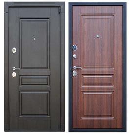 """""""ГЕРМЕС"""", входная дверь, оттенок внутренней панели - """"орех бренди"""""""
