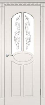 """Модель """"Модерн"""" (со стеклом), межкомнатная дверь."""