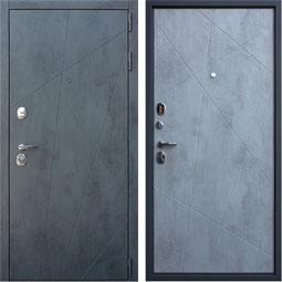 """""""ДУЭТ Б"""", входная дверь, внутренняя панель - оттенок """"бетон светлый"""""""