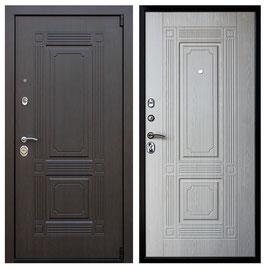 """Входная дверь """"Викинг"""",  цвет внутренней панели - белёный дуб"""