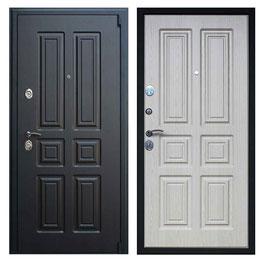 """""""АТЛАНТ"""", входная дверь, оттенок внутренней панели - белёный дуб"""