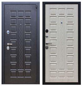 """""""КОНСУЛ"""", входная дверь, оттенок внутренней панели - """"белёный дуб"""""""