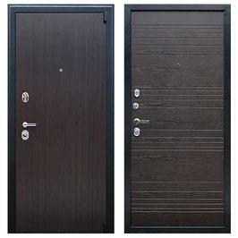 """""""NEXT-2"""", входная дверь, оттенок внутренней панели - """"венге поперечный"""""""
