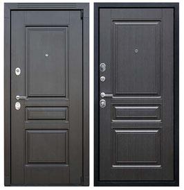 """""""ГЕРМЕС"""", входная дверь, оттенок внутренней панели - """"венге"""""""