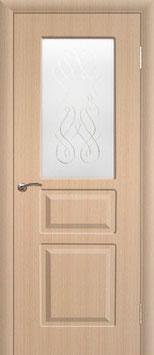 Модель L-007 (со стеклом), межкомнатная дверь.