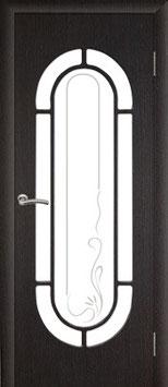 """Модель """"Мальва"""" (со стеклом), дверь межкомнатная."""