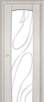"""Модель """"Италия"""" (со стеклом), дверь межкомнатная."""