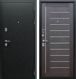"""""""СОЛО"""", входная дверь, оттенок внутренней панели - """"орех рифлёный"""""""