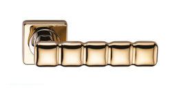 Комплект дверных ручек Sillur C202 P.GOLD