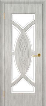 """Модель """"Омега"""" (со стеклом), межкомнатная дверь."""