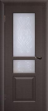 Модель L-006 (со стеклом), межкомнатная дверь.