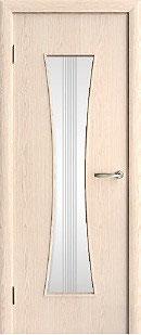 Модель D-04 (со стеклом), межкомнатная дверь.