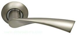 Комплект дверных ручек Sillur X11 S. CHROME