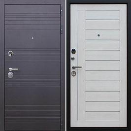 """""""ДУЭТ"""", входная дверь, оттенок внутренней панели - """"белая лиственница"""""""