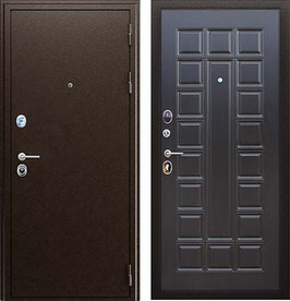 """""""СПАРТАК"""", входная дверь, цвет внутренней панели - венге"""