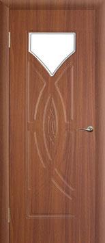"""Модель """"Омега-дельта"""" (со стеклом), межкомнатная дверь."""