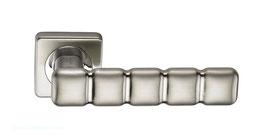 Комплект дверных ручек Sillur C202 S.CHROME