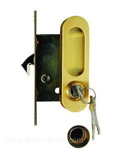 Комплект дверных ручек для дверей-купе Archie A-K 01/02-V1II