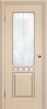 Модель L-001 (со стеклом), межкомнатная дверь.