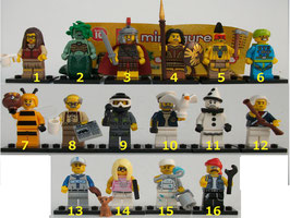 . Lego Minifiguren .  Serie 10