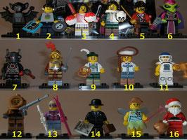. Lego Minifiguren .  Serie 8