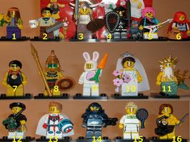 . Lego Minifiguren .  Serie 7