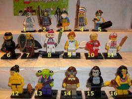 . Lego Minifiguren .  Serie 3