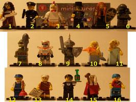 . Lego Minifiguren .  Serie 9