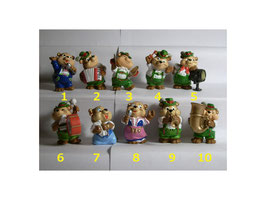 Top Ten Teddies 1995