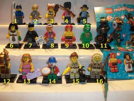 . Lego Minifiguren .  Serie 5