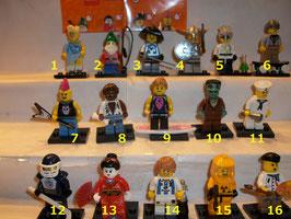 . Lego Minifiguren .  Serie 4