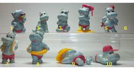 Die Happy Hippos 1988