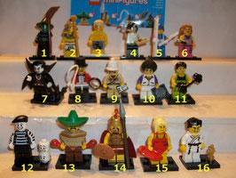. Lego Minifiguren .  Serie 2