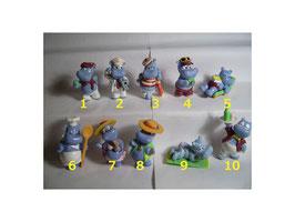 Happy Hippos auf dem Traumschiff 1992