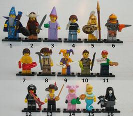 . Lego Minifiguren .  Serie 12