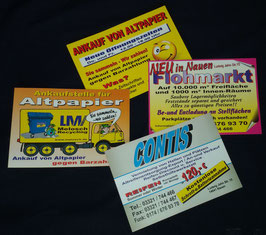 Flyer, Handzettel DIN A4