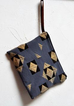 Pochette Textile 碧い aoi