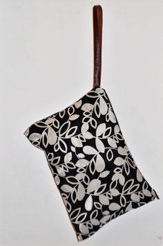 Pochette Textile   葉っぱ happa