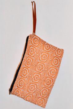 Pochette Textile  銅版画 douhan'ga