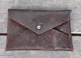 Porte-Carte credit/carte 黒褐色 kokkasshoku     made in Bordeaux