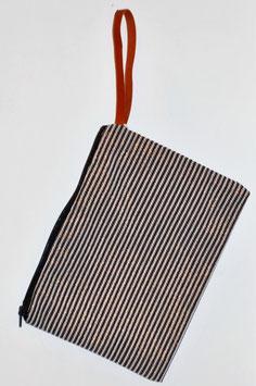 Pochette Textile  黒 shirokuro