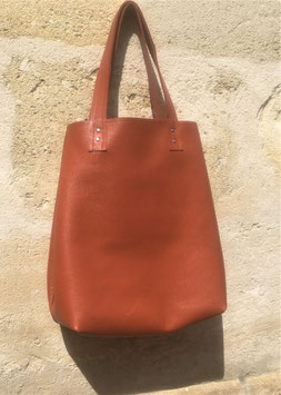 Cabas 褐色  Kasshoku made in Bordeaux
