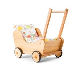 Puppenwagen | Buche massiv