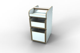 """""""growing table spaces"""" Rollcontainer"""