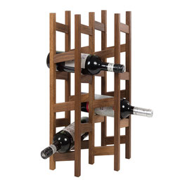 Weinregal für 12 Flaschen, Eiche
