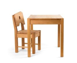 Kindertisch & -stuhl | Buche massiv