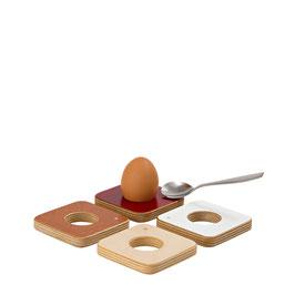Eierbecher mit Löffelhalter